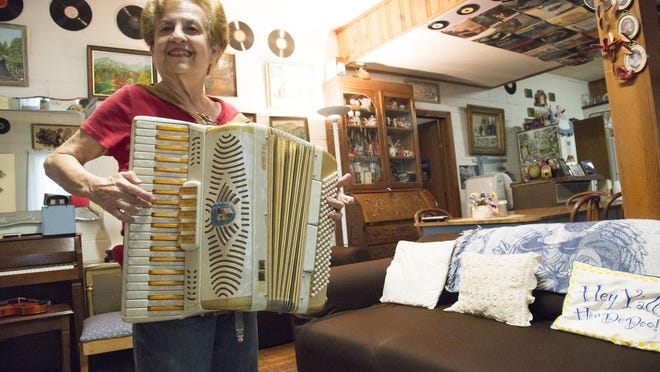 Decades ago in St. Petersburg, Fla., Friendship Lodge owner Sara LaBrant played in a band with a dozen other girl accordion players.