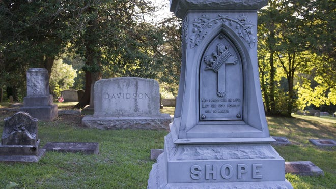 Some of the Swannanoa Valley's most historic families are buried in the Piney Grove cemetery.