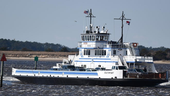 The Southport-Fort Fisher ferry will reopen for passengers on Friday.