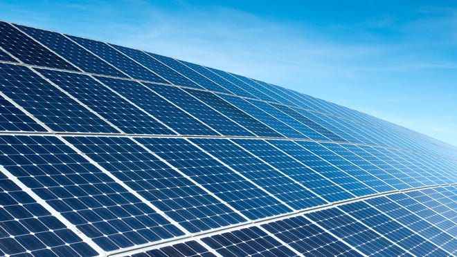 A proposal to install solar farms in New Hartford has three sites slated: along Route 12, Middle Settlement Road, and in Wasdhington Mills.