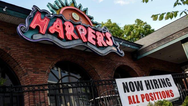 Harper's Restaurant on June 23, 2020, in East Lansing.
