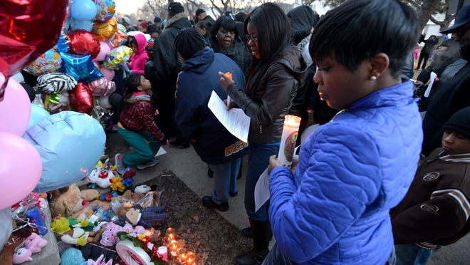 The killings Stoni Blair and Stephen Berry triggered an outpouring of support for the child victims from the community.