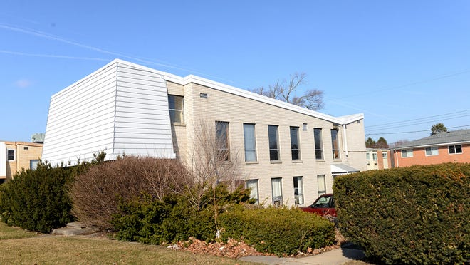 The former union hall on South Pennsylvania that Steve Suhr and his wife Marie-Claude Senut are renovating into a scientific lab.