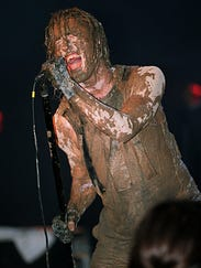 Trent Reznor at Woodstock '94
