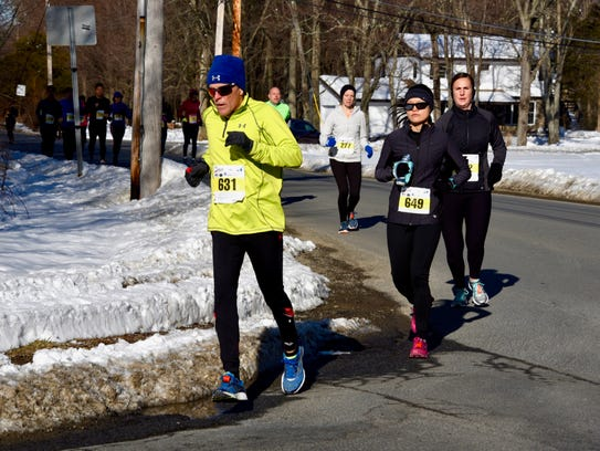 Edward Lyons runs the Ed Erichson Memorial 10-mile
