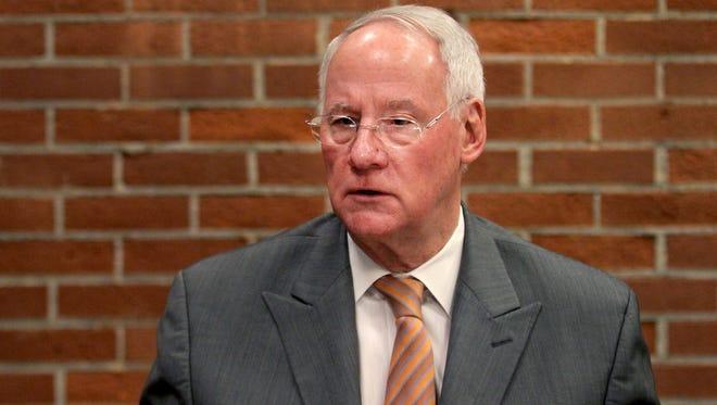 Oregon State University President Ed Ray