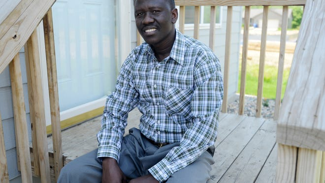 """""""Every time we see the news, what is happening, because we came from Somalia, that (local perception) is something that always worries us,"""" said Somali refugee Suleiman Khamis."""