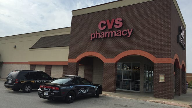 Lafayette Police Department responded to a robbery Sunday around 4:45 p.m. at CVS Pharmacy, 2806 Old U.S. 231. The suspect, a white female wearing a light colored sweatshirt and sunglasses, was still at large as of Sunday afternoon.