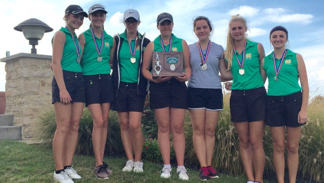 Newark Catholic finished as Division II district runner-up Thursday at Darby Creek.