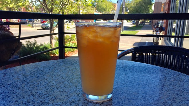An Arnold Palmer iced tea at High Grounds Cafe in Iowa City on Aug. 27, 2016.