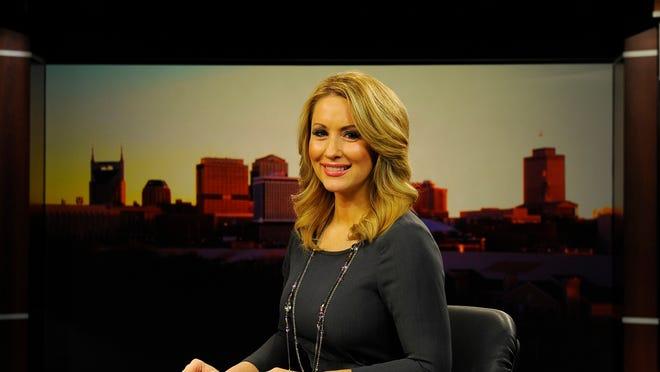 NewsChannel 5 anchor Jessica Ralston Friday Dec. 19, 2014, in Nashville, Tenn.