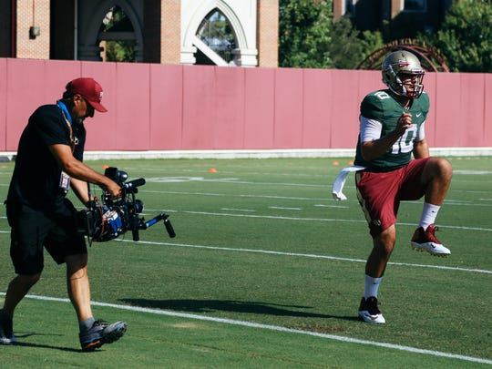 The cameras of Showtime's A Season With are following the Florida State football team throughout the 2016-2017 season.