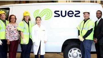 Suez customers in Rockland can receive rebates for using water-conserving products.