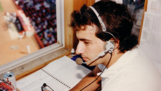 The rooftop press box at Silver Stadium was Josh Lewin's first broadcasting home. He was the play-by-play voice of the Rochester Red Wings from 1990-1994.