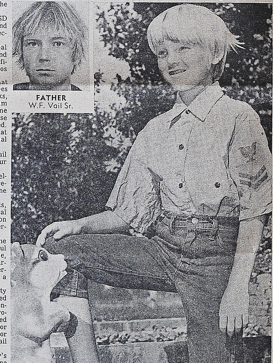 Young Bill Vail pictured in the Jan. 10, 1971, issue