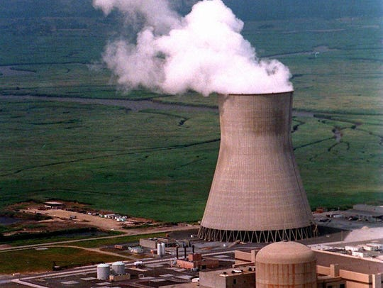 File photo A 2012 file photo of the cooling tower for