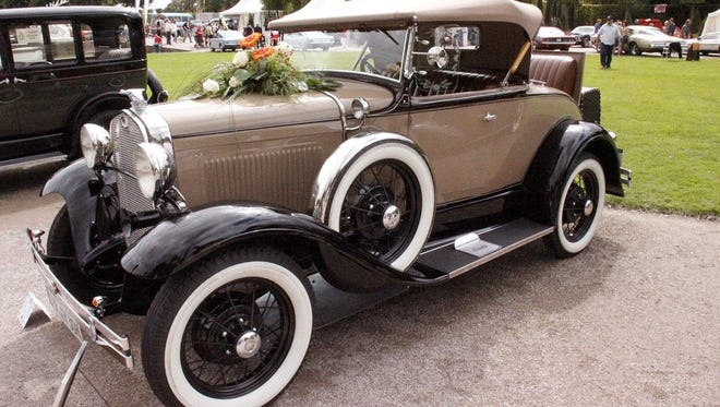 A 1930 Ford Model A roadster is among the vehicles of that make and model the Cherryland A's car club will bring to the Sept. 2 Vintage Day at Heritage Village at Big Creek in Sturgeon Bay.