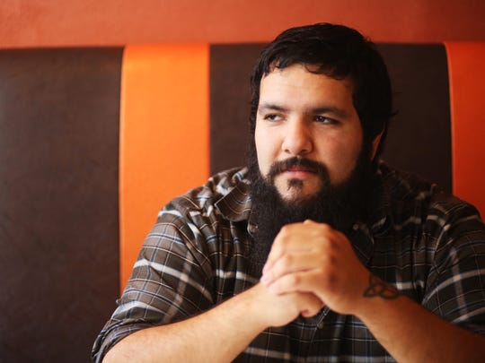 Jarred Venti is a bass player for a number of Salem bands and also works as Beer Czar for Venti's Cafe.
