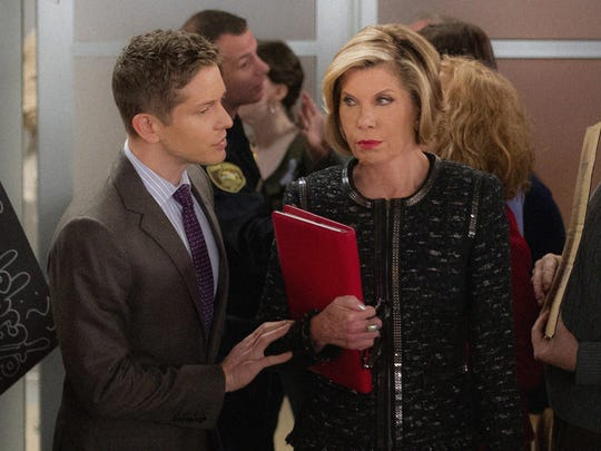 Diane (Christine Baranski), shown here with Cary (Matt