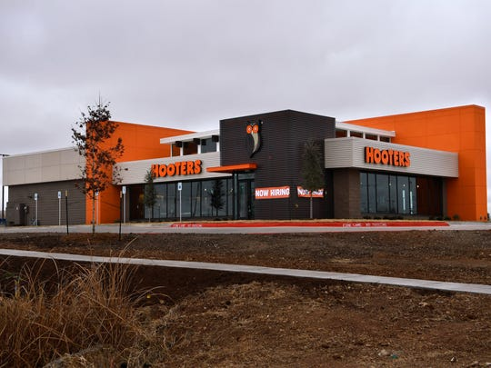 The Hooters restaurant at 2042 E. Overland Trail is scheduled to open Jan. 15.