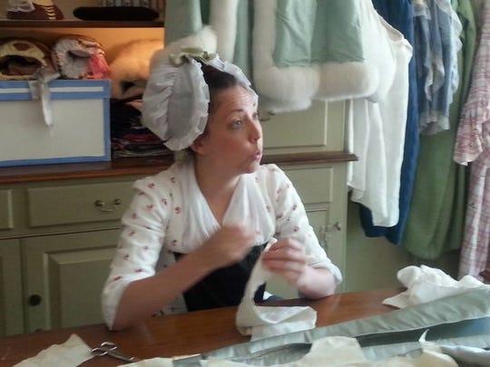 Sarah Woodyard, Journeywoman Milliner and Mantua-maker,