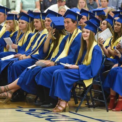 Cathedral High School graduation 2018