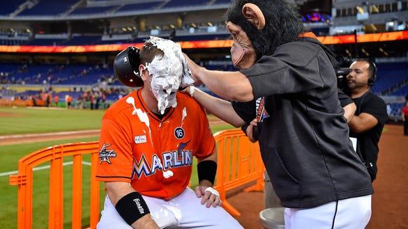 USP MLB: ARIZONA DIAMONDBACKS AT MIAMI MARLINS S BBN MIA ARI USA FL
