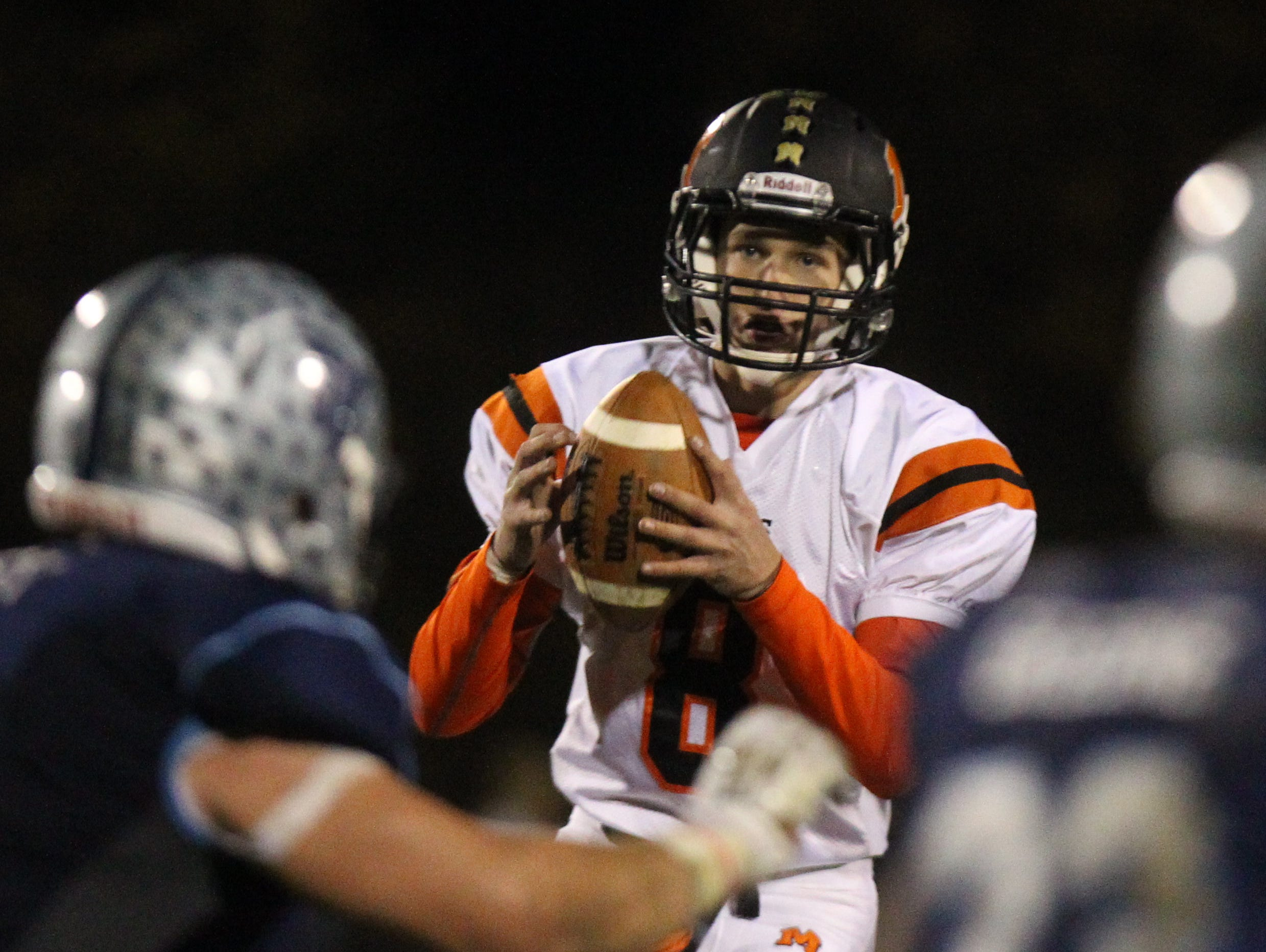 Mamaroneck's Bill Flatow suffered a shoulder sprain and missed two-plus games earlier in the season.