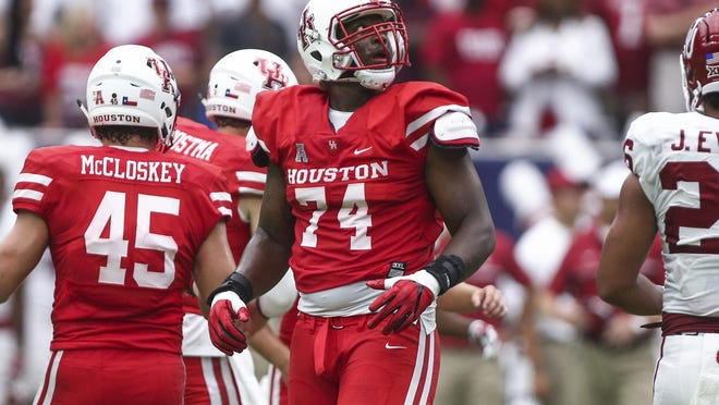 Houston Cougars left tackle Josh Jones had a dominant college career