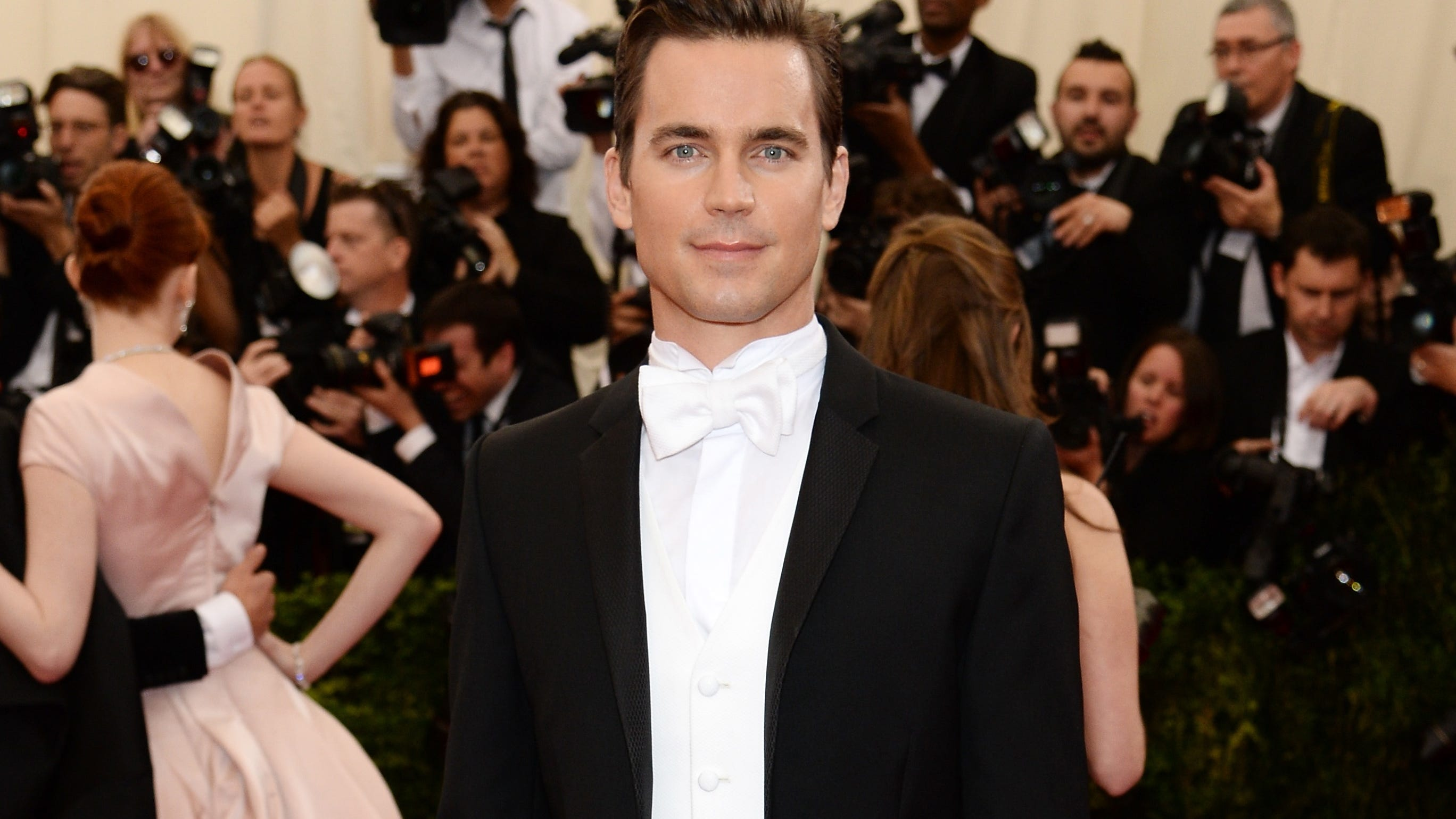 Matt Bomer Is Perfect In A Tux Reveals He Had A Chill Wedding