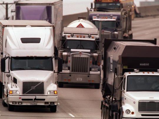 As the road funding debate heats up, so has concern over Michigan's heavy trucks.