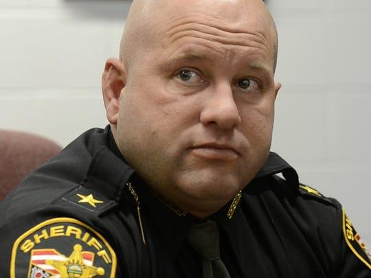 Sandusky County Sheriff Kyle Overmyer.
