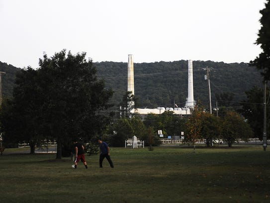 The Invista plant, formerly owned by DuPont, can be