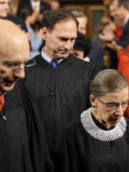 Supreme Court Justice Samuel Alito joined colleagues