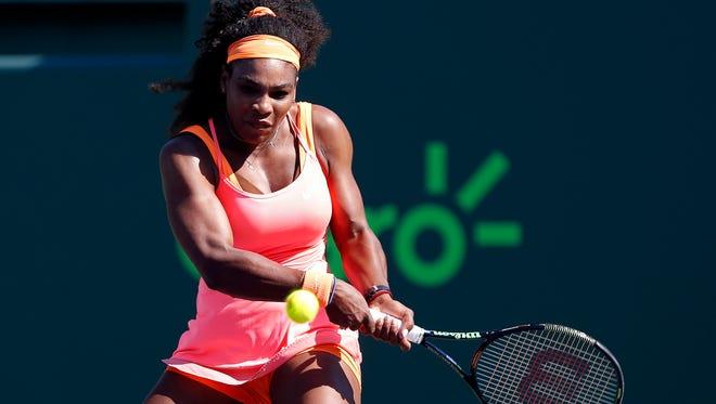 Serena Williams won 51 of 65 points against CiCi Bellis.