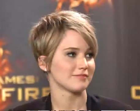 side view of the Jennifer Lawrence's new cut. (Photo: Google)