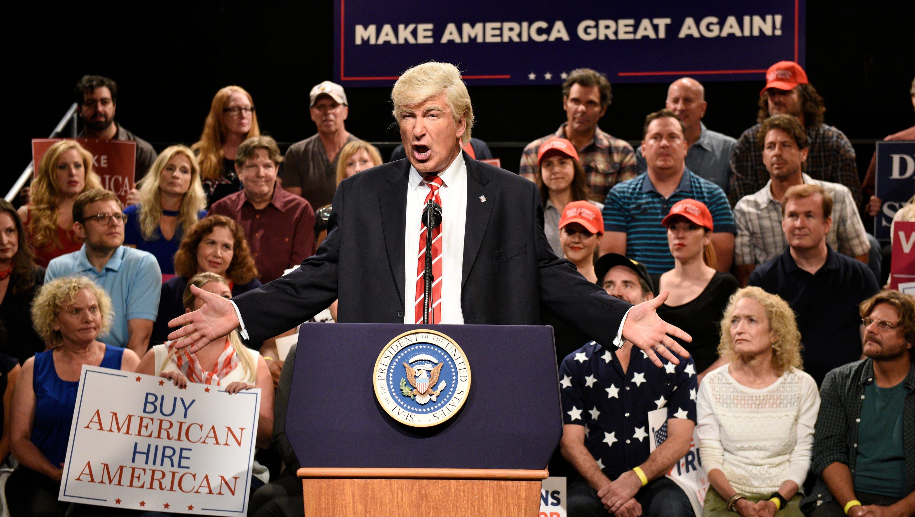 Created At 2017 10 01 1209 Tcash Puasa Mao Pie Face Showdown Newsinfoinquirernet Saturday Night Live Knocks Trump For Puerto Rico Response In Season Premiere