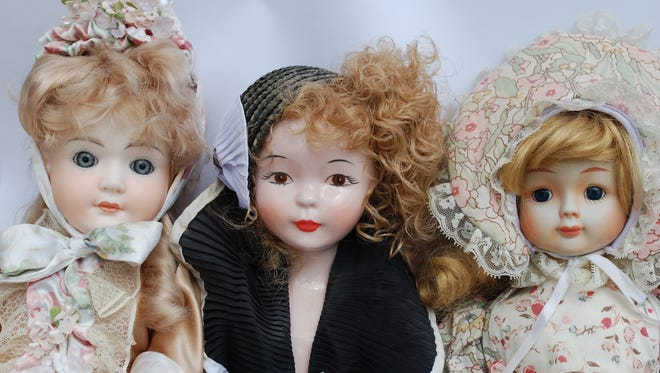 Porcelain collectors dolls were a popular decorating trend in the 1980s and '90 but are no longer selling for the prices paid for them in many cases.