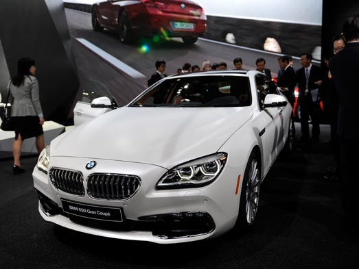 BMW 6 series Gran Coupe at the North American International