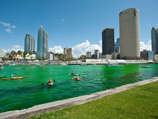 Tampa invites kayakers and boaters to come hang out