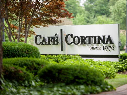 The Italian restaurant Cafe Cortina is celebrating