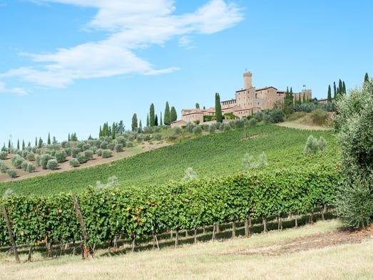 Castello Banfi — Il Borgo, Tuscany, Italy: Castello