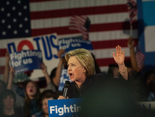 Hillary Clinton in New Jersey for campaign stop at