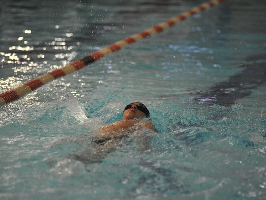 Bucyrus, Wynford and Crestline at swimming sectionals