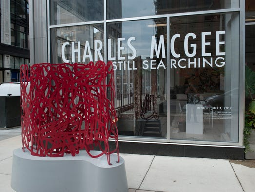 Artist Charles McGee's fascination and spirituality
