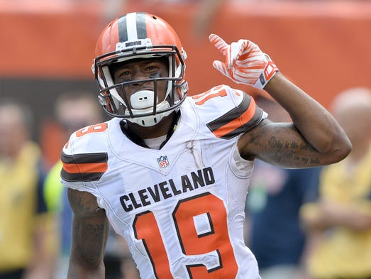 Browns WR Corey Coleman: Out until at least Week 11