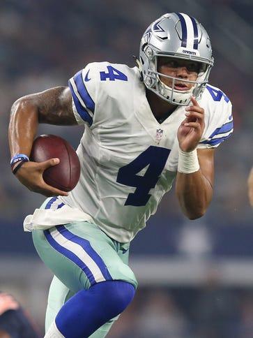 Cowboys QB Dak Prescott has shown poise and accuracy