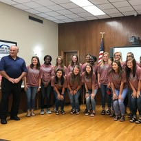 State champion Lady Lions recognized by OPSB