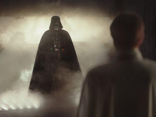 Darth Vader power-walks back into the spotlight in