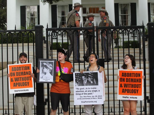 AP Abortion Restrictions-Texas